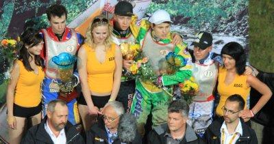 Siegerehrung Auerhahnpokal 2011 - Bergringarena Teterow
