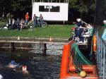 1. Wasserballturnier im Flußbad Rostock